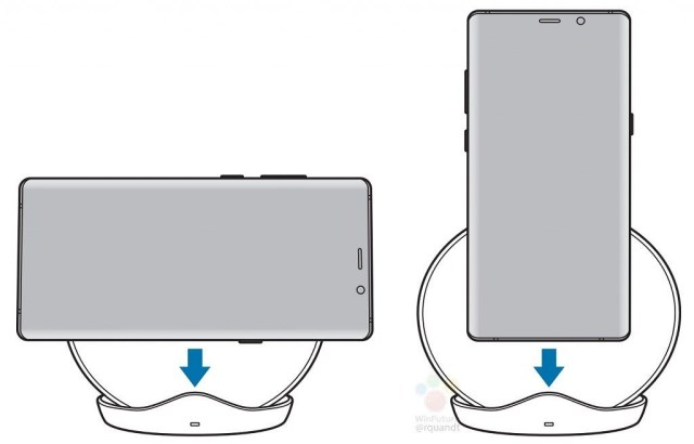 Samsung Galaxy S9 Fast Wireless Charger