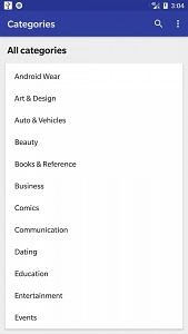 Galaxy Google Play Store Alternative Material Design Yalp Store