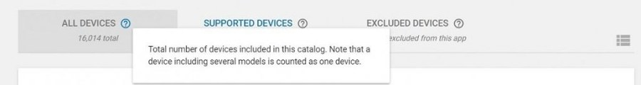 Google Play Certified Devices