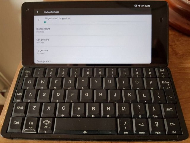 Planet Computers Gemini PDA LineageOS 14.1