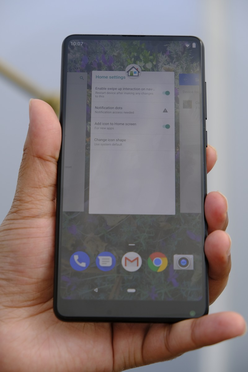 Hands-on with Android P on the Xiaomi Mi Mix 2S - Digitalworld