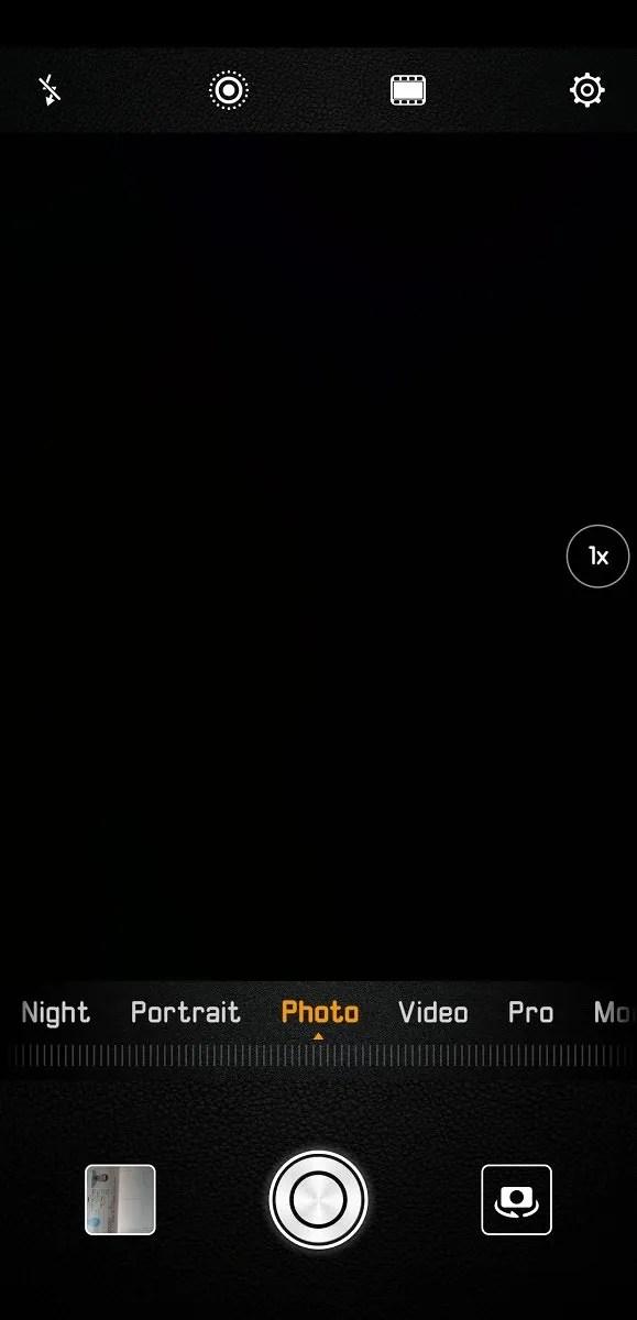 Huawei P20 Pro Camera App