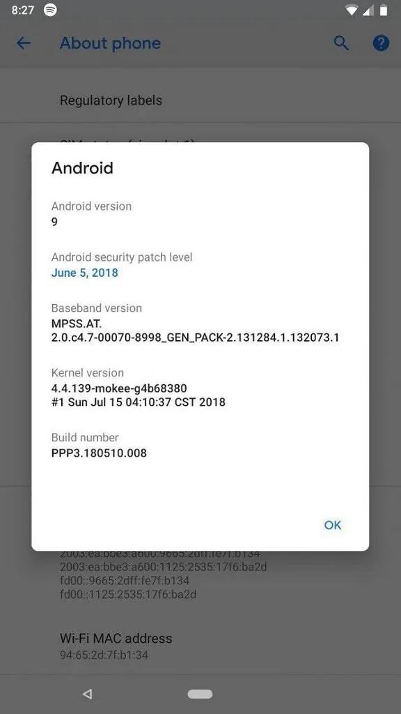 Install Android P Beta on Lenovo P2, Lenovo Zuk Z2 Plus, LG V30, Motorola Moto G5, OnePlus 5, OnePlus 5T, Samsung Galaxy S9+, Xiaomi Mi 5, Xiaomi Mi 6, Xiaomi Redmi 3s/3x/Prime, Xiaomi Redmi 4 Prime, Xiaomi Redmi 4A, Xiaomi Redmi 4x, Xiaomi Redmi 5 Plus, Xiaomi Redmi Note 4, Xiaomi Redmi Note 5 Pro