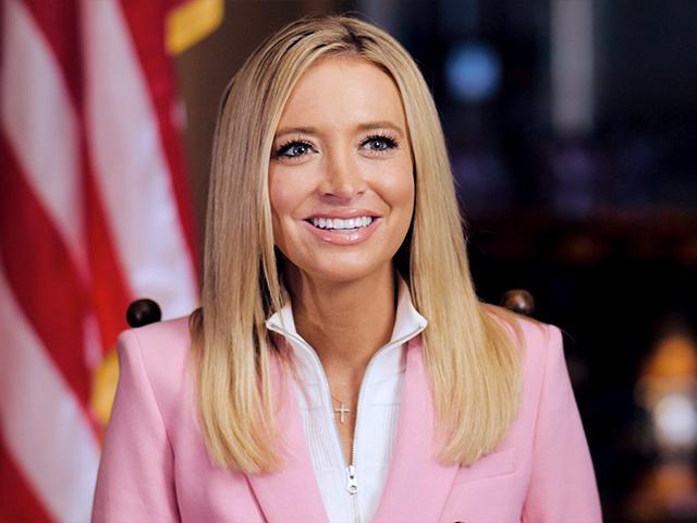 CBN's David Brody interviews White House Press Secretary Kayleigh McEnany.