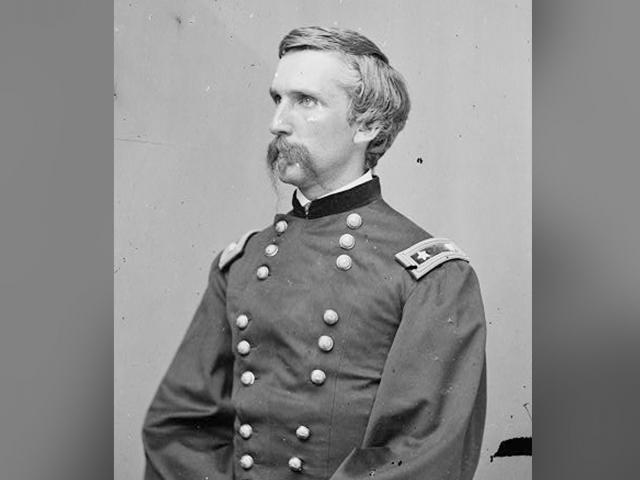Major General Joshua Lawrence Chamberlain, US Army.  Photo Credit: Library of Congress