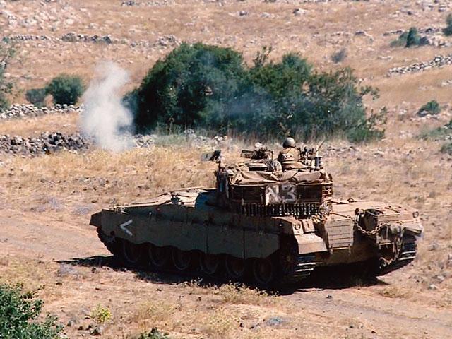 Israeli Army tank