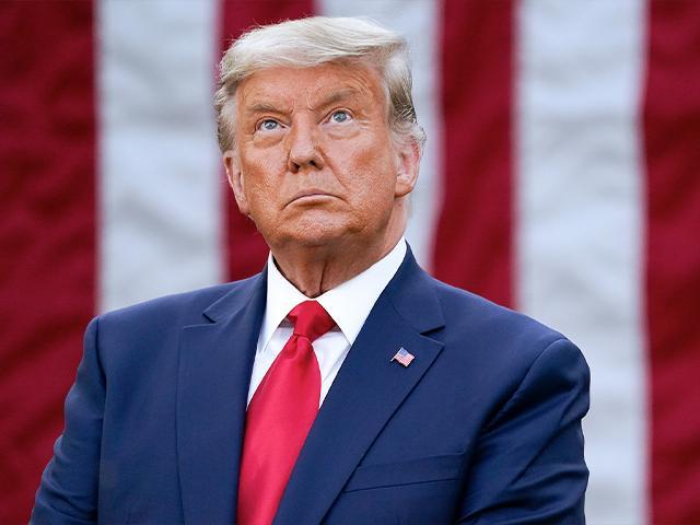 President Donald Trump in the Rose Garden of the White House, Nov. 13, 2020. (AP Photo/Evan Vucci)