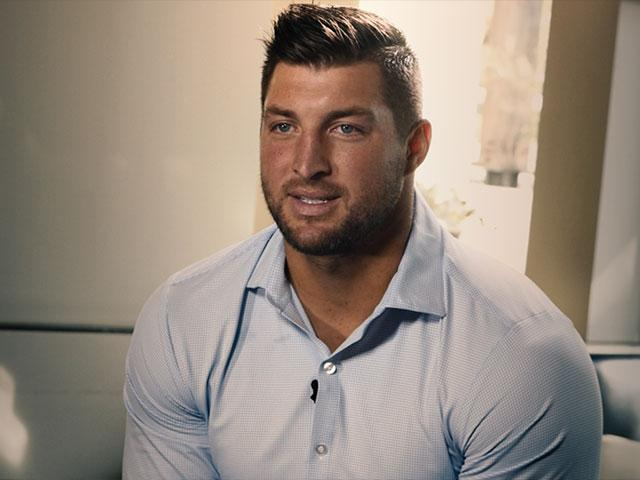 Tim Tebow talks with CBN News