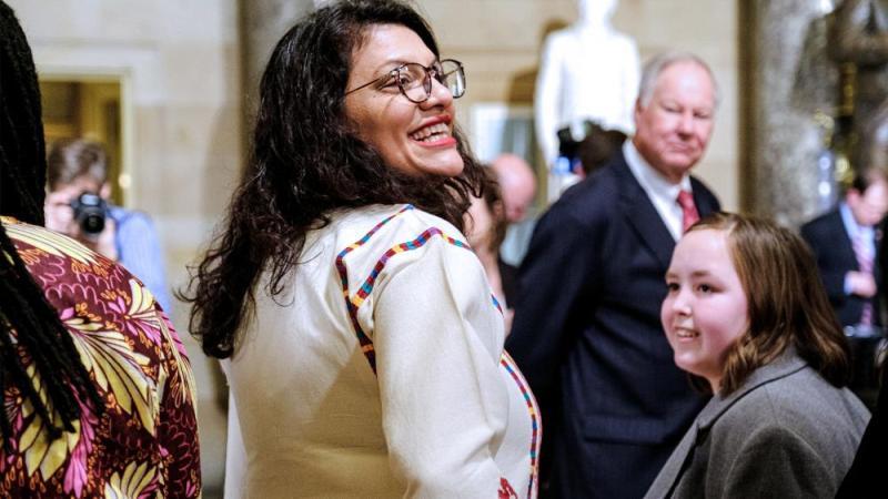 Rep. Rashida Tlaib (Photo: Patrick Robertson/CBN News)
