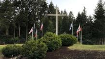 Christians in Oregon Unite as Antifa Activists Threaten to Tear Down Cross at Private College