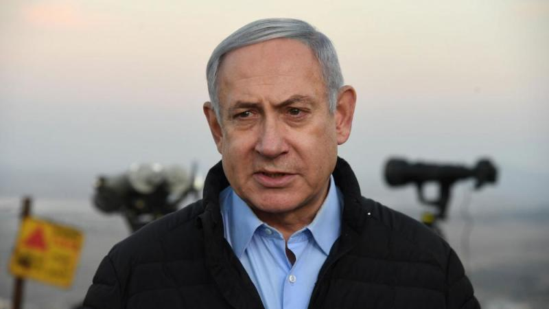 Photo credit: Haim Zach (GPO)- PM Netanyahu on Mt. Avital