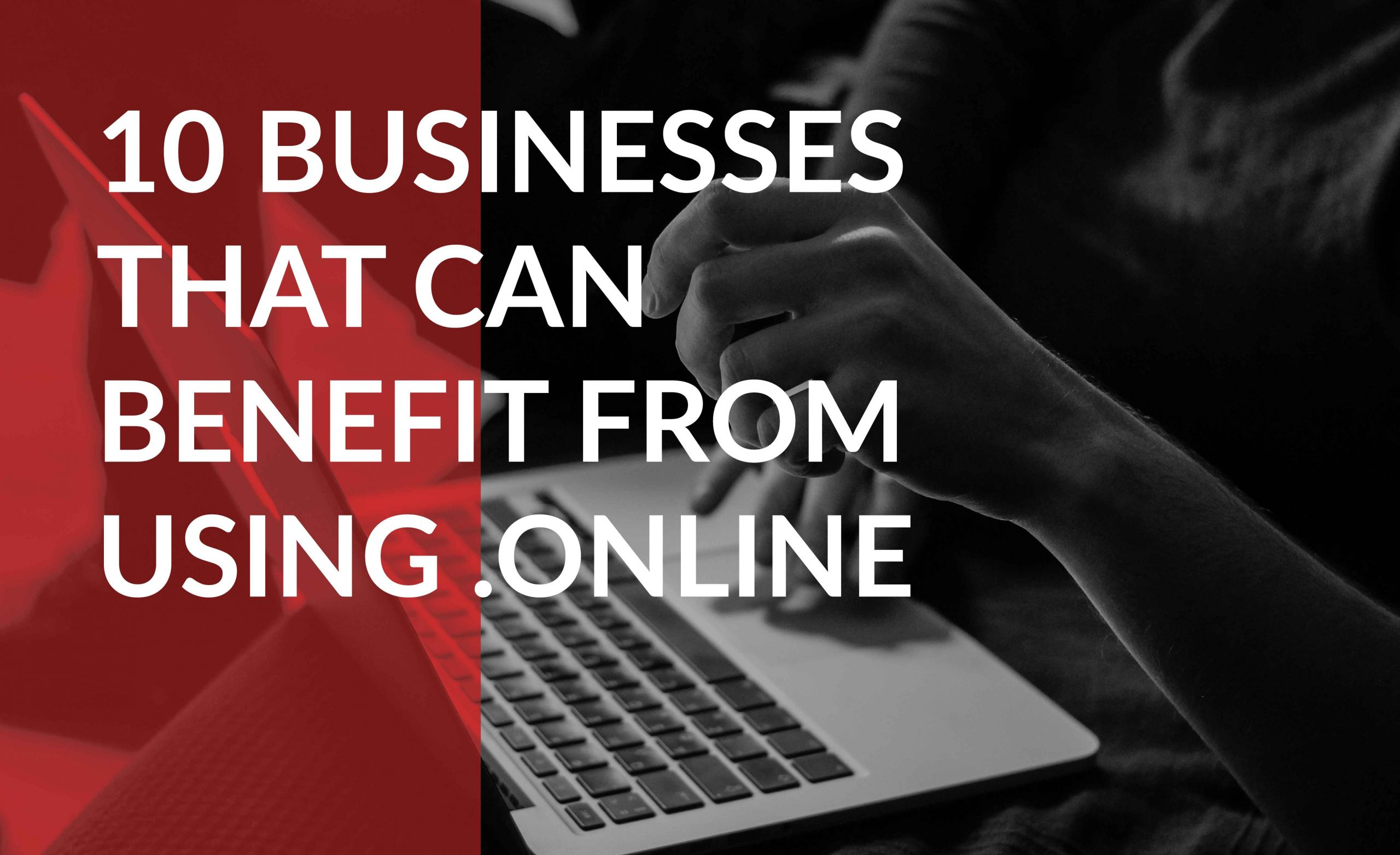 10 businesses that can benefit from a .online domain name