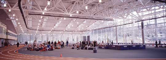 Indoor Track Kenyon Athletic Center Kenyon College
