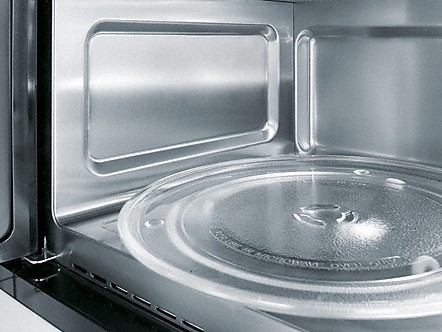 stainless steel interior microwave ovens