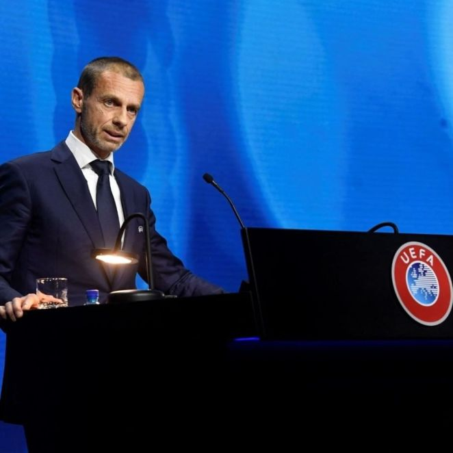 Chelsea Fans Booed Aleksander Ceferin Ahead Of Their Champions League Title Defence As The Official Presented Four Blues Players With Awards