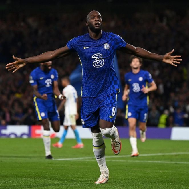 Lukaku's First Champions League Start And First Champions League Goal For Chelsea