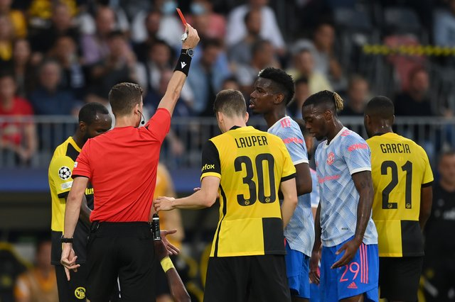 Ole Gunnar Solskjaer Claims That The Referee's Decision To Send Off Aaron Wan-Bissaka Might Have Been Slightly Harsh