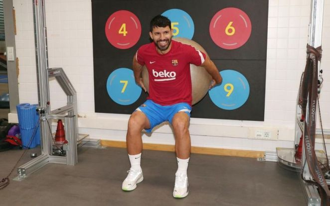 Sergio Agüero Is Aware That He Still Has A Long Way To Go Before He Can Play For Barça