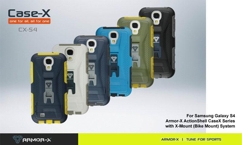 Mini Galaxy 4 Phone Holder Bike