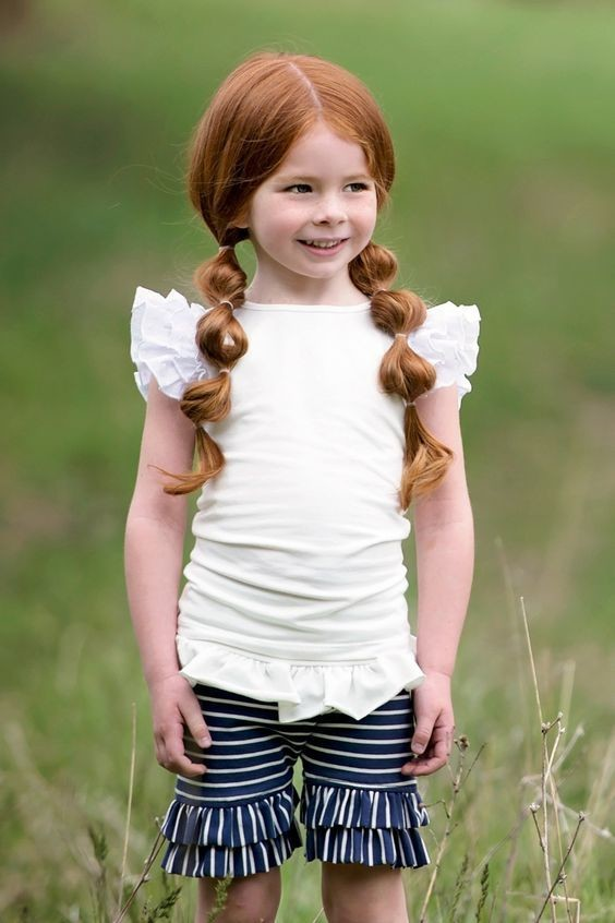 Dress Up Those Pigtails Cute Back To School Hairstyle