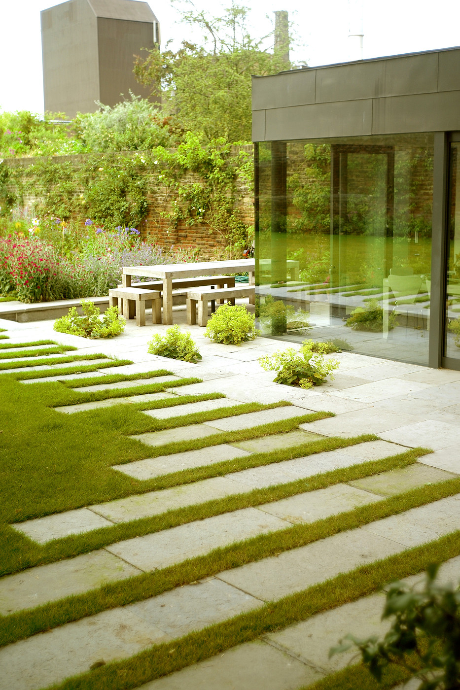 Stepping Stones Photos, Design, Ideas, Remodel, and Decor ... on Stepping Stone Patio Ideas  id=18246