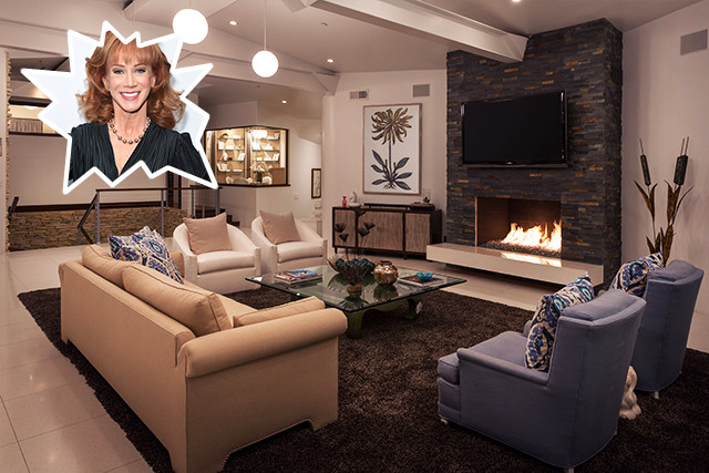 Kathy Griffin The Coolest Celebrity Living Rooms Lonny