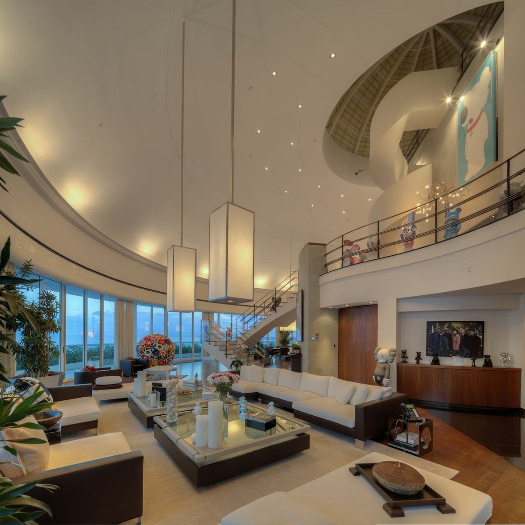 Pharrell Williamss Staggering Miami Penthouse Celebrity