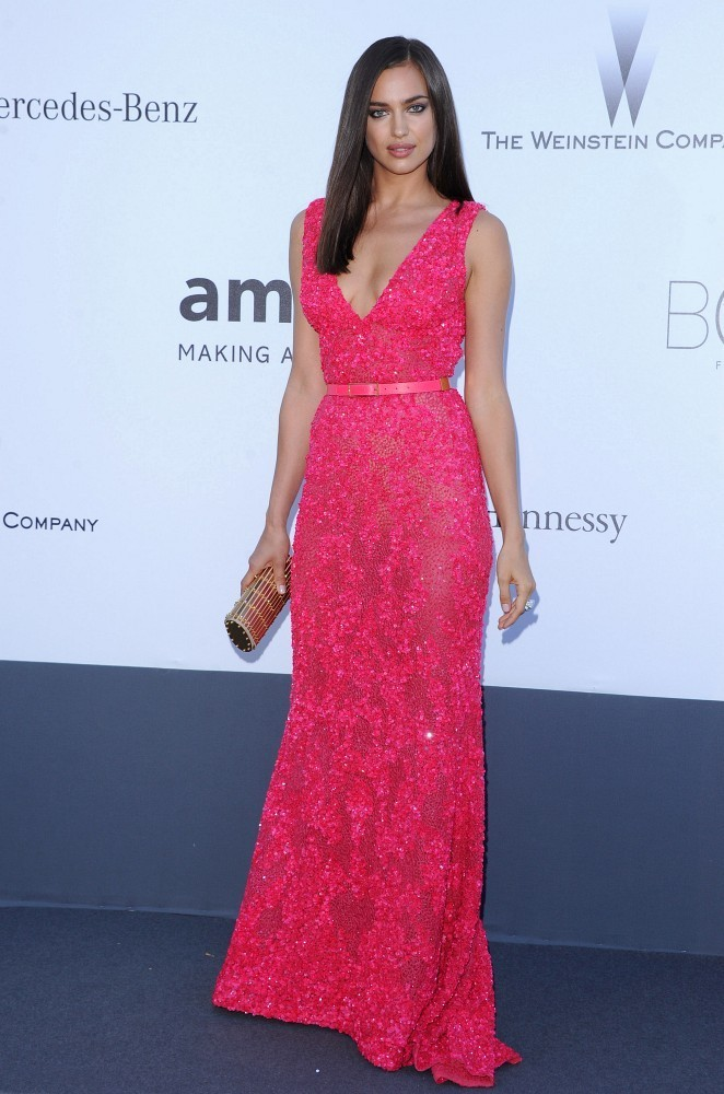 Irina Shayk Evening Dress Irina Shayk Looks StyleBistro