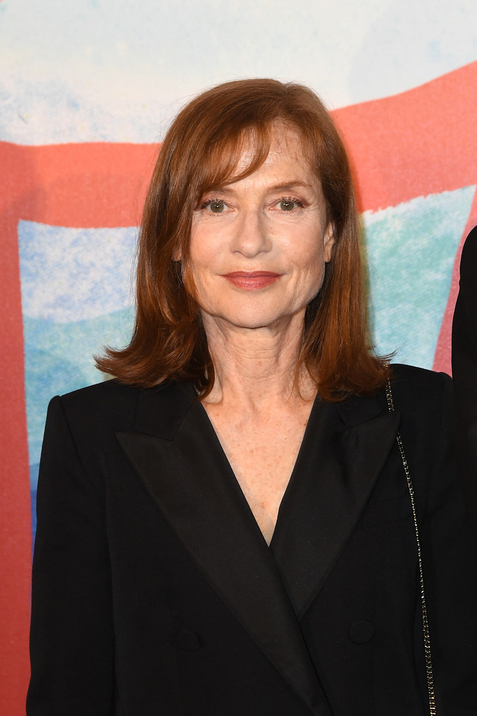 Isabelle Huppert Flip Shoulder Length Hairstyles