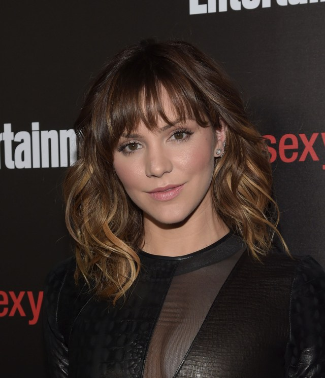 katharine mcphee shoulder length hairstyles - katharine