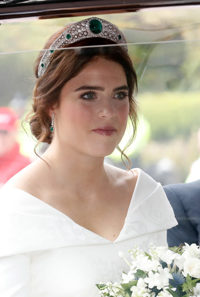 Princess Eugenie Chignon Fashion Lookbook StyleBistro
