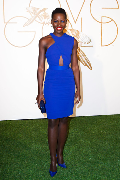 Lupita Nyong'o in Stella McCartney for the Sally Morrison & LoveGold Honor