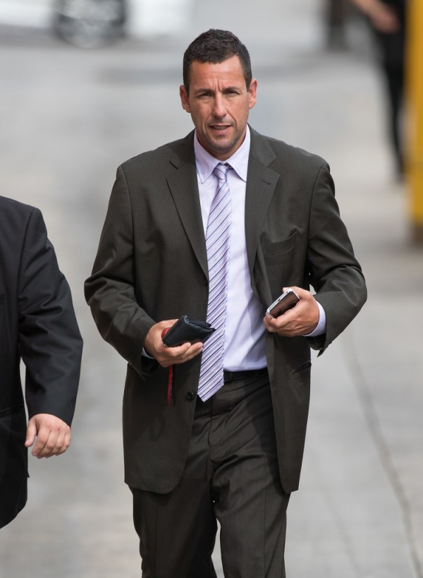 Adam Sandler Photos Photos - Adam Sandler Visits 'Jimmy ...