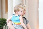 Hilary Duff and Luca are seen in Beverly Hills.NON EXCLUSIVE Dec 23, 2014.