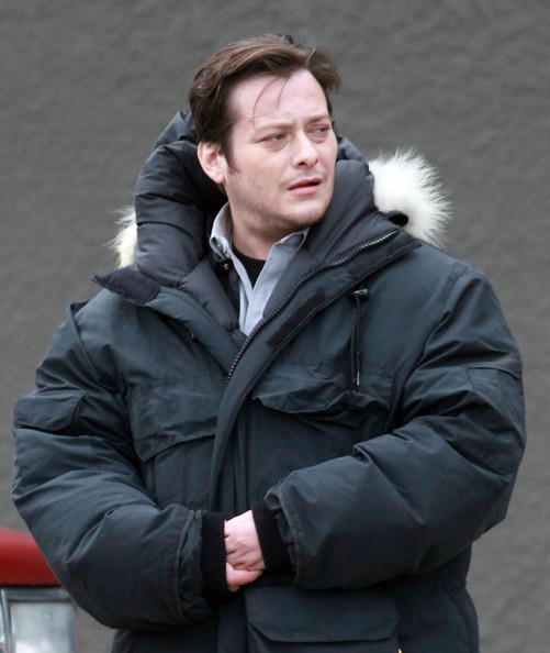 Edward Furlong - Stars On The Set Of 'Bailout' In Vancouver