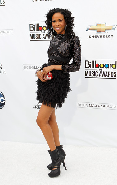 Singer Michelle Williams arrives at the 2011 Billboard Music Awards at the MGM Grand Garden Arena May 22, 2011 in Las Vegas, Nevada.