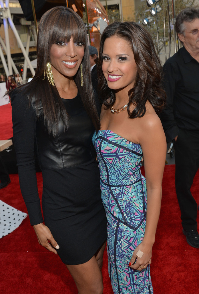 rocsi diaz red carpet