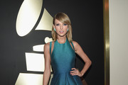 Singer/songwriter Taylor Swift attends The 57th Annual GRAMMY Awards at the STAPLES Center on February 8, 2015 in Los Angeles, California.