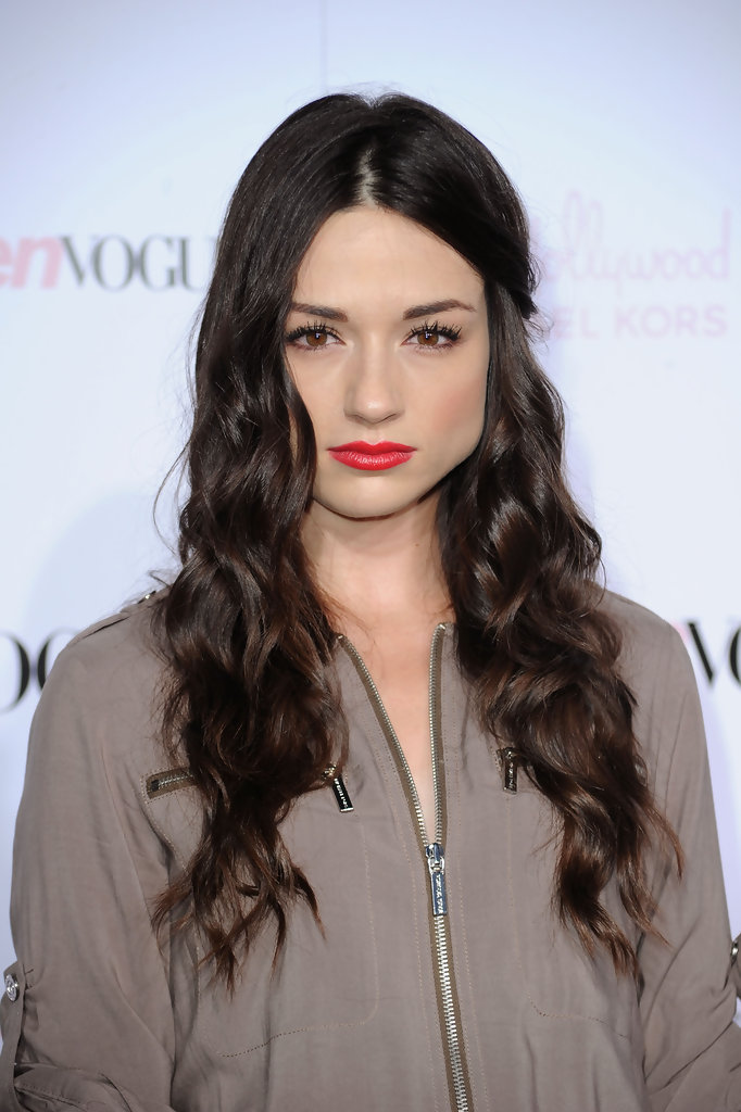 Crystal Reed In 8th Annual Teen Vogue Young Hollywood