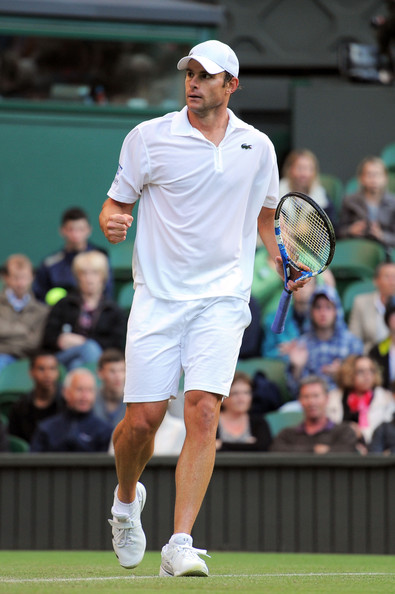 Andy Roddick - The Championships - Wimbledon 2011: Day Three