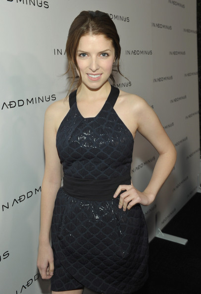 Anna Kendrick Actress Anna Kendrick (wearing IN ADD MINUS) attends the IN ADD MINUS flagship store launch on November 18, 2010 in Los Angeles, California.