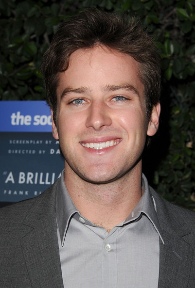 "Armie Hammer - Sony Pictures Home Entertainment's ""The Social Network"" Blu-ray & DVD Launch Event - Arrivals"