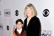 Actors Blake Garrett Rosenthal (L) and Mimi Kennedy attend The 41st Annual People's Choice Awards at Nokia Theatre LA Live on January 7, 2015 in Los Angeles, California.