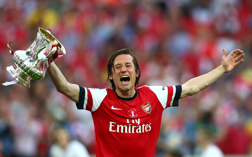 Image result for tomas rosicky arsenal fa cup