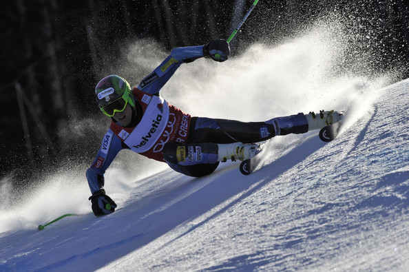 Ted Ligety in prima mansa a slalomului urias din Beaver Creek (Getty Images)
