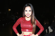 Recording artist Becky G attends 101.3 KDWB's Jingle Ball 2014 presented by Sky Zone Indoor Trampoline Park and Allstate at Xcel Energy Center on December 8, 2014 in St Paul, Minnesota.