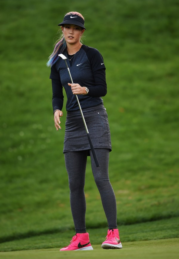 Michelle Wie Photos Photos - Evian Championship Golf - Day ...