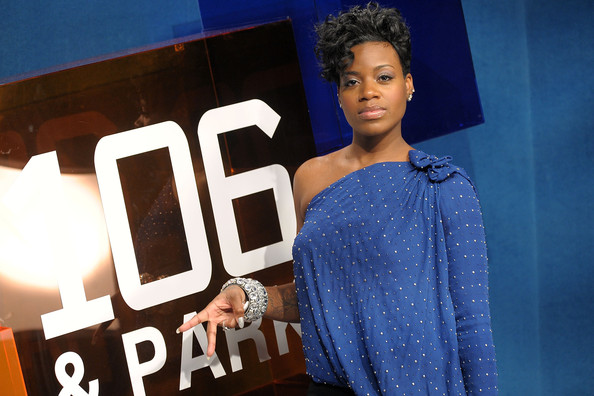 Singer and TV personalty Fantasia Barrino visits BET's 106 & Park at BET Studios on January 6, 2010 in New York City.