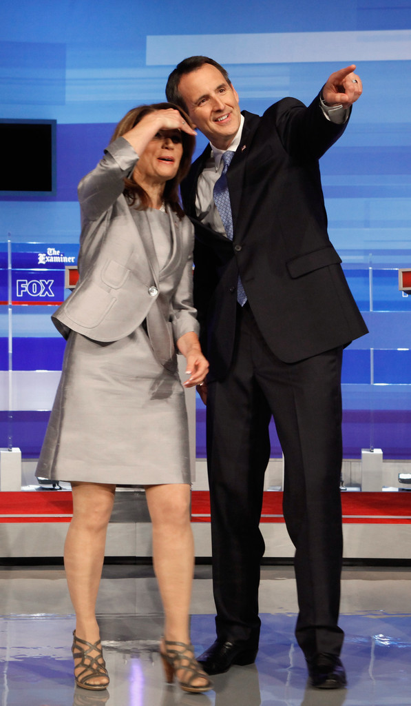 Michele Bachmann in GOP Presidential Candidates Hold First ...