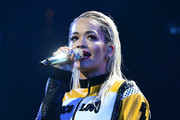 Rita Ora performs onstage during HOT 99.5's Jingle Ball 2014, Presented by Mattress Warehouse at the Verizon Center on December 15, 2014 in Washington, D.C.
